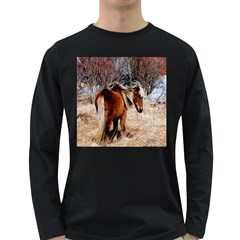 Pretty Pony Men s Long Sleeve T-shirt (Dark Colored)