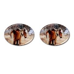 Pretty Pony Cufflinks (oval)