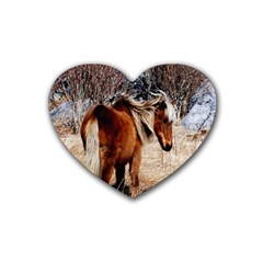 Pretty Pony Drink Coasters 4 Pack (Heart)