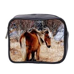 Pretty Pony Mini Travel Toiletry Bag (two Sides)