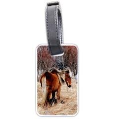 Pretty Pony Luggage Tag (One Side)