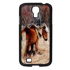 Pretty Pony Samsung Galaxy S4 I9500/ I9505 Case (Black)