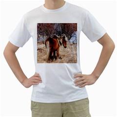 Pretty Pony Men s T-Shirt (White)