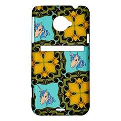 Orange Unicorn HTC Evo 4G LTE Hardshell Case