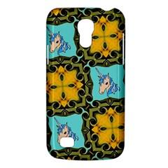 Orange Unicorn Samsung Galaxy S4 Mini (GT-I9190) Hardshell Case