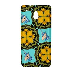 Orange Unicorn HTC One mini Hardshell Case