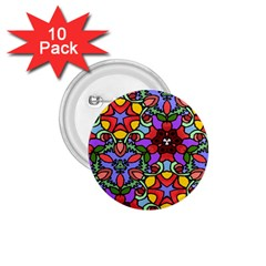 Bright Colors 1.75  Button (10 pack)