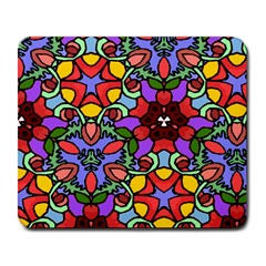 Bright Colors Large Mouse Pad (Rectangle)