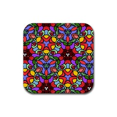 Bright Colors Drink Coasters 4 Pack (Square)