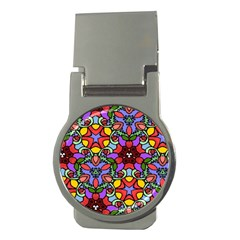 Bright Colors Money Clip (Round)