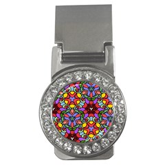 Bright Colors Money Clip (CZ)