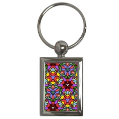 Bright Colors Key Chain (rectangle)