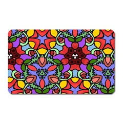 Bright Colors Magnet (rectangular)