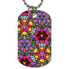 Bright Colors Dog Tag (One Sided)