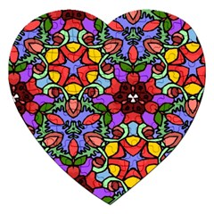 Bright Colors Jigsaw Puzzle (Heart)