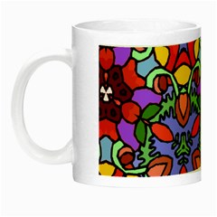 Bright Colors Glow in the Dark Mug