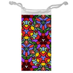 Bright Colors Jewelry Bag