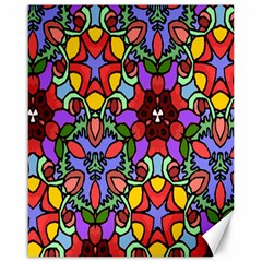Bright Colors Canvas 16  x 20  (Unframed)