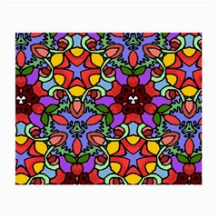 Bright Colors Glasses Cloth (Small, Two Sided)