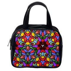 Bright Colors Classic Handbag (one Side)