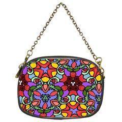Bright Colors Chain Purse (one Side)