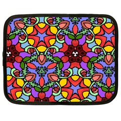 Bright Colors Netbook Sleeve (xl)
