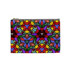 Bright Colors Cosmetic Bag (medium)