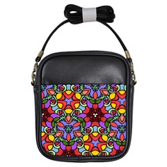 Bright Colors Girl s Sling Bag