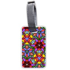 Bright Colors Luggage Tag (two Sides)