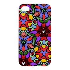 Bright Colors Apple Iphone 4/4s Hardshell Case