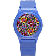 Bright Colors Plastic Sport Watch (Small)