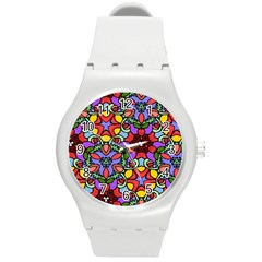 Bright Colors Plastic Sport Watch (Medium)