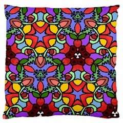 Bright Colors Large Cushion Case (Single Sided)