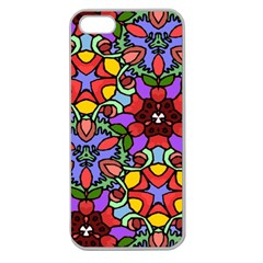 Bright Colors Apple Seamless Iphone 5 Case (clear)