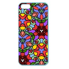 Bright Colors Apple Seamless iPhone 5 Case (Color)