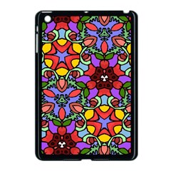 Bright Colors Apple iPad Mini Case (Black)