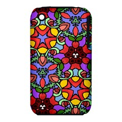 Bright Colors Apple iPhone 3G/3GS Hardshell Case (PC+Silicone)