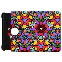 Bright Colors Kindle Fire HD 7  (1st Gen) Flip 360 Case
