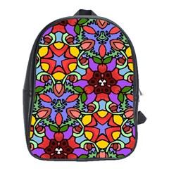 Bright Colors School Bag (XL)