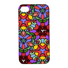 Bright Colors Apple Iphone 4/4s Hardshell Case With Stand