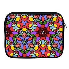 Bright Colors Apple iPad Zippered Sleeve