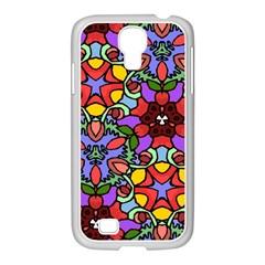 Bright Colors Samsung Galaxy S4 I9500/ I9505 Case (white)