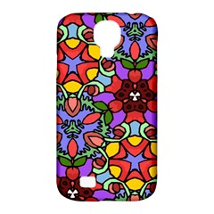 Bright Colors Samsung Galaxy S4 Classic Hardshell Case (PC+Silicone)