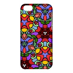 Bright Colors Apple iPhone 5C Hardshell Case