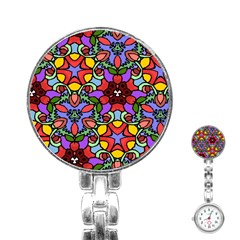 Bright Colors Stainless Steel Nurses Watch