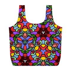Bright Colors Reusable Bag (l)