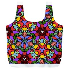 Bright Colors Reusable Bag (XL)