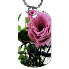 Rose Dog Tag (One Sided)