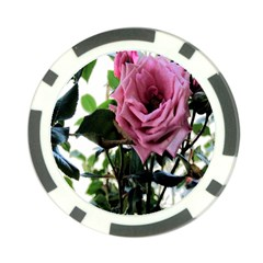 Rose Poker Chip