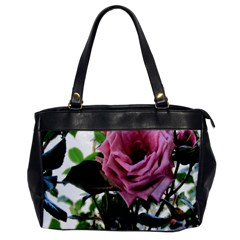 Rose Oversize Office Handbag (one Side)